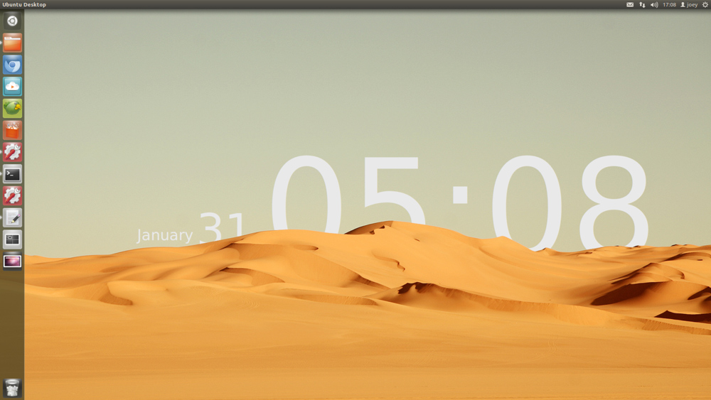 'The Sands of Time' Linux Desktop