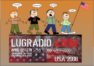 LugRadio Coming to America