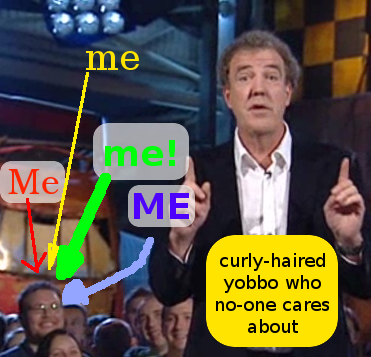 Me on Top Gear