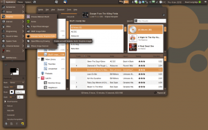 My Ubuntu desktop, January 2009
