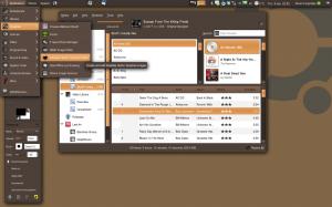 My Ubuntu desktop, January 2009