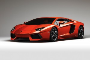 the Lamborghini Aventador